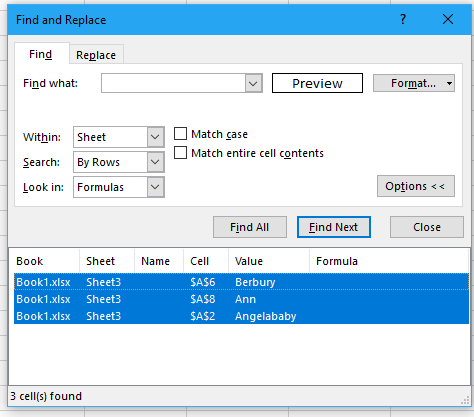 doc filter font size 3