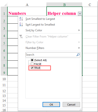 doc filter number end con 4