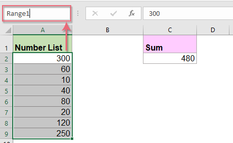 How to find all combinations that equal a given sum in Excel?