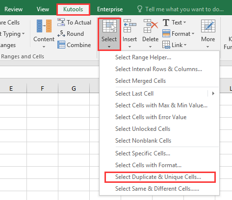 doc find duplicates without removing 7