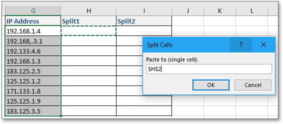 doc kutools split cells 3