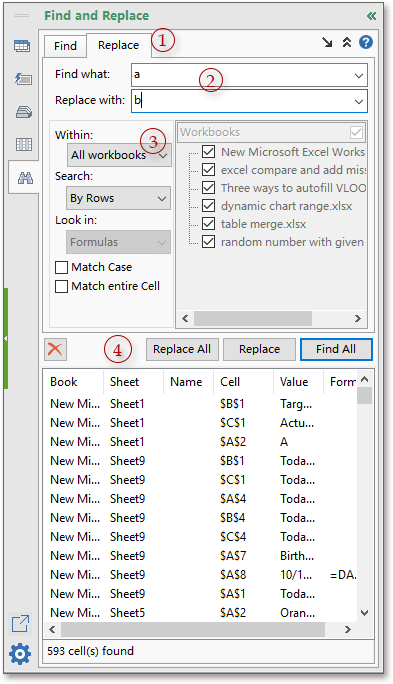 doc find replace multiple sheets 7
