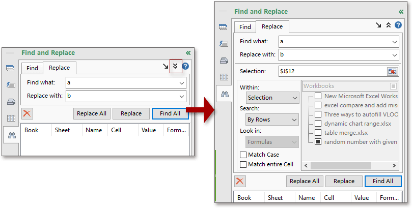 doc find replace multiple sheets 10