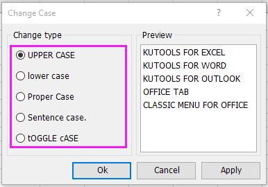 document verander geval 2