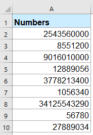 How To Format Numbers In Thousands, Million Or Billions In