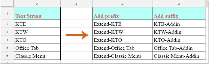 doc add prefix 1