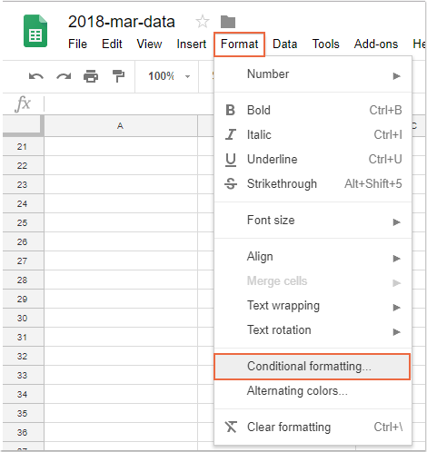 How to highlight rows based on date in Goolge sheet?