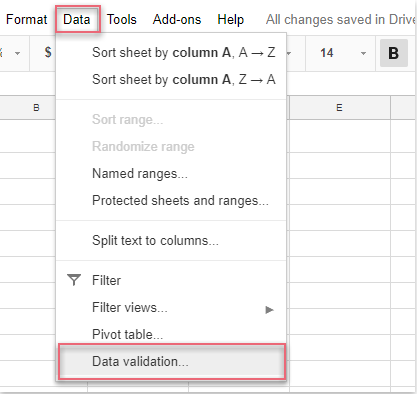 How To Insert Date Picker In Google Sheet