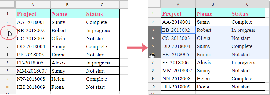 doc insert multiple rows 1