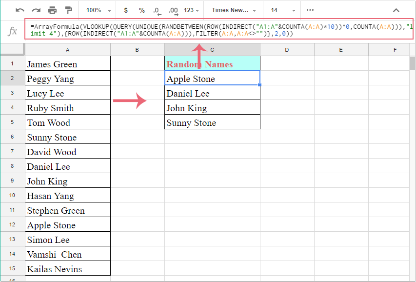 doc google sheets sort randomly 1