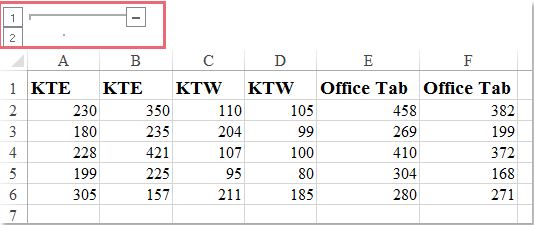doc group adjacent columns 3