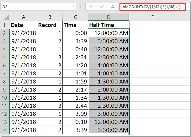 How To Group Data By Half An Hour Or 15 Minutes In Excel Pivottable