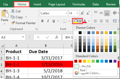 doc identify expired upcoming date 12