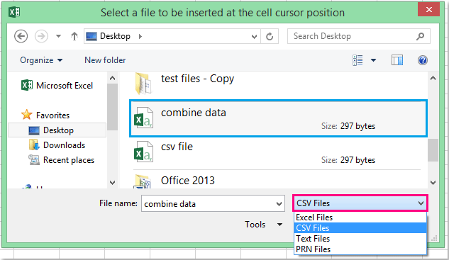 doc import csv file 13