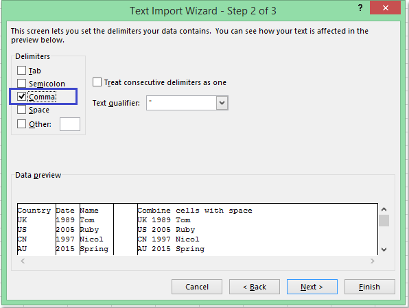 How to import csv file into worksheet?