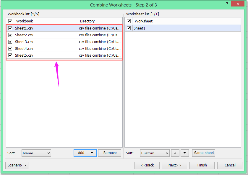 doc import csv to worksheet 9