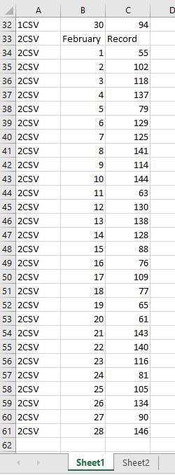 doc importa vários csv texto xml 7