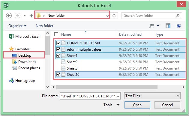 doc import multiple text files 1