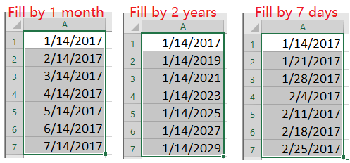 doc increment date by month 1