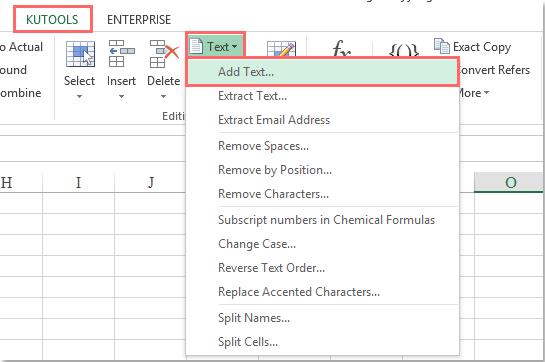 doc insérer tous les caractères x 7 7