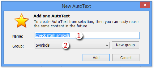 How to insert check mark symbols in Excel?