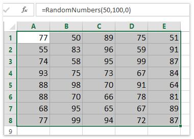 عدد صحيح عشوائي بين شنومكس و شنومكس