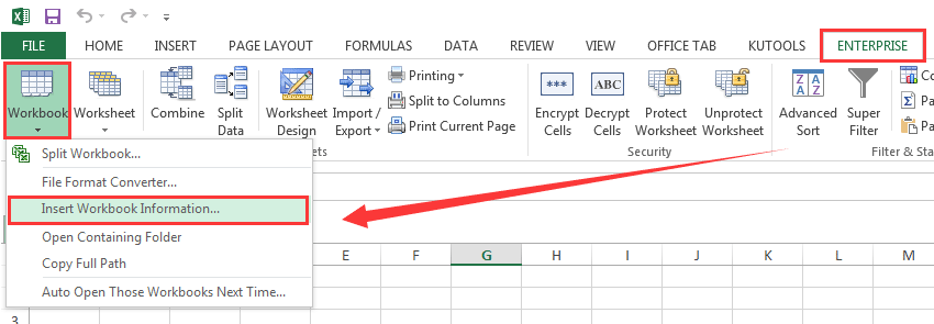 How to quickly insert sheet names in cells in Excel?