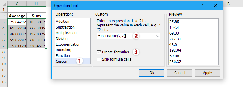 How to limit number of decimal places in formula in Excel?