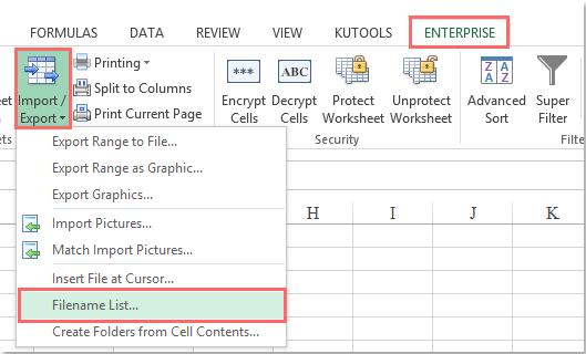 doc list files in folder subfolder 5 5