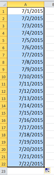 liste des docs en semaine 2
