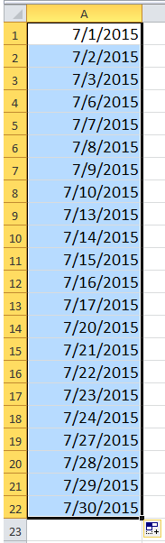 liste des docs en semaine 4