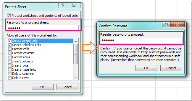 how to remove password protected cells in excel