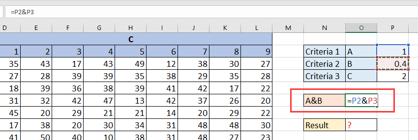 doc lookup in 3d table 3
