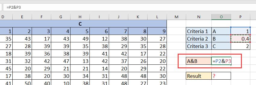iskanje po dokumentu 3d v tabeli 3