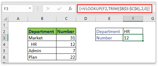 doc lookup with trim 2