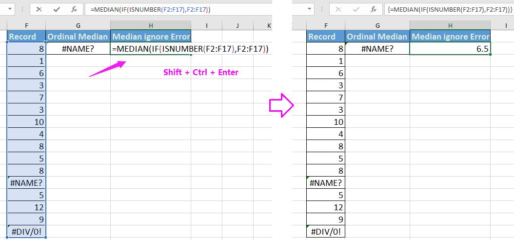 doc median ignore zero error 3