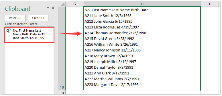 Merge and Combine Columns without Losing Data in Excel