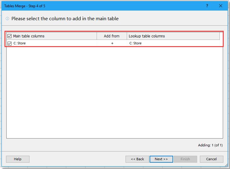 doc table merge 5