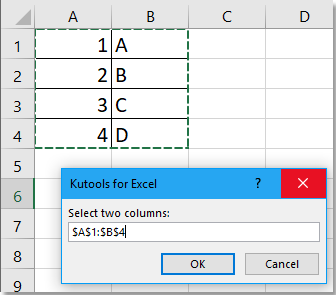 doc merge two columns into one with alternating value 2