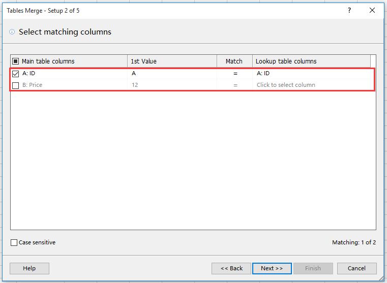 doc merge update table 6
