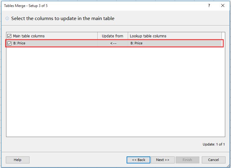 doc merge update table 7