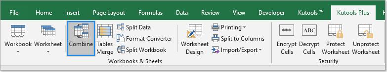extendoffice combine multiple workbooks
