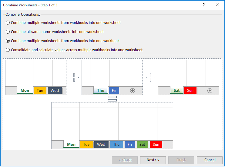 How to combine multiple workbooks into one master workbook