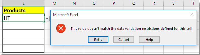 doc only allow certain value input 5
