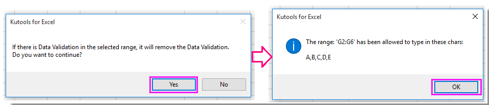 doc only allow certain value input 8