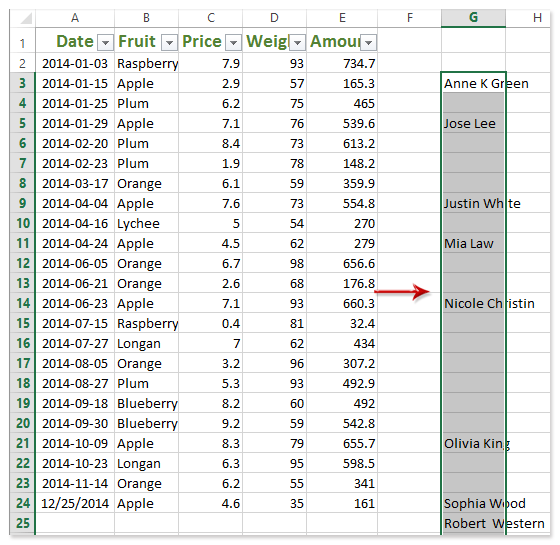 How to paste skipping hidden/filtered cells and rows in Excel?