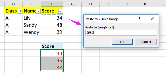 doc paste visible cell 8