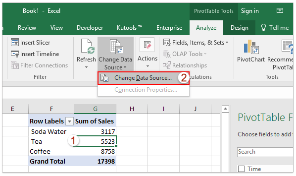 How to calculate median in an Excel pivot table?