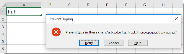 doc prevent lowercase 9