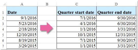doc quarter start date 1